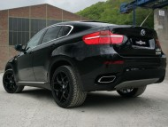 Black X6 back Vogtland tuning / Bmw