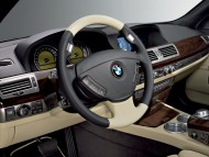 760iL dashboard / Bmw