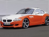 Z4 ACS Protile coupe orange side / Bmw