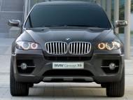 X6 Concept black front / Bmw