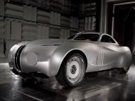 Mille Miglia futuristic retro style prototype front / Bmw