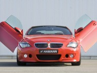M6 hamann red open doors / Bmw