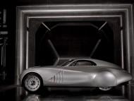 Mille Miglia futuristic retro style prototype side / Bmw