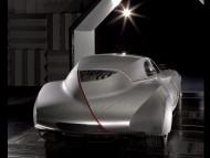 Mille Miglia retro style prototype back / Bmw