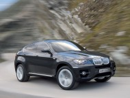 X6 Concept black side / Bmw