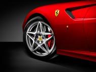 599 GTB Detail Front Wheel / Ferrari