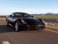 599 GTB Outside Front Right Black / Ferrari
