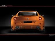 Edo Competition 2008 630 Scuderia Orange Rear / Ferrari