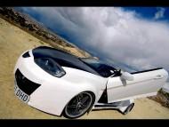 maxi tuning black hood / Hyundai