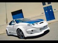 maxi tuning blue hood / Hyundai