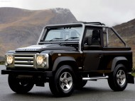 front side black jeep / Land Rover