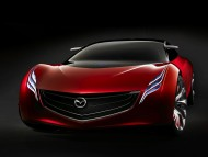 red prototype front / Mazda