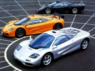 three supercars / McLaren