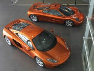 MP4-12C orange top two / McLaren