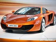 MP4-12C orange front / McLaren
