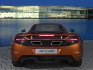 MP4-12C orange back / McLaren