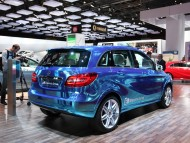 Mercedes Benz B Class Electric Drive back / Mercedes
