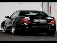 SL 63 back / Mercedes