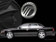 side black sedan / Mercury Marauder