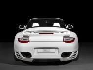 TechArt white back / Porshe