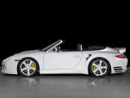 TechArt white side / Porshe