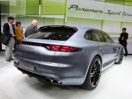 Panamera Sport Turismo back / Porshe