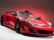 Porsche-Carrera-GT red / Porshe