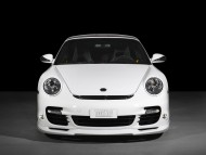 white coupe / Porshe