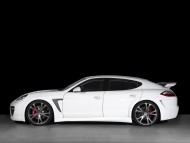 Concept one white side / Porshe