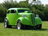 hot rod green / Retro Cars