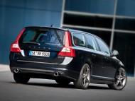 black V70 universal back / Volvo