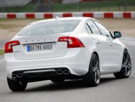 white S60 heico back / Volvo