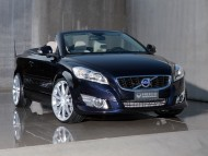 blue cabriolet heico front / Volvo