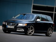 black V70 universal front / Volvo
