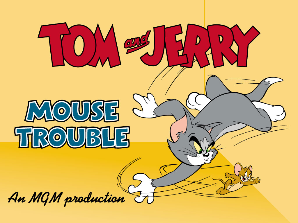 Download tom and jerry cartoons wallpaper 1024x768