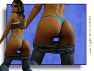 nice buttock / Abbey Diaz