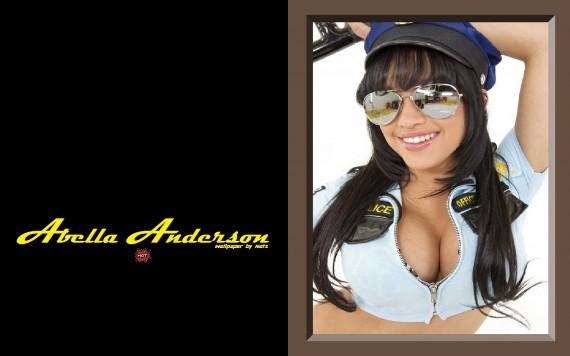 Free Send to Mobile Phone Abella Anderson Celebrities Female wallpaper num.12