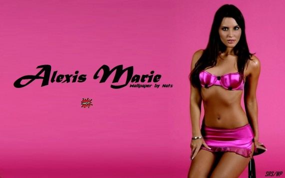 Free Send to Mobile Phone Alexis Marie Celebrities Female wallpaper num.1