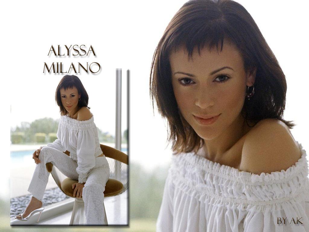 alyssa milano wallpaper female