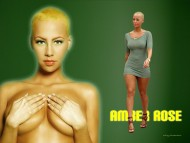 kanye west, model / Amber Rose