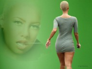 mini skirt / Amber Rose