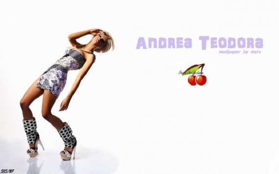 ... to Mobile Phone Andrea Teodora Celebrities Female wallpaper num.27