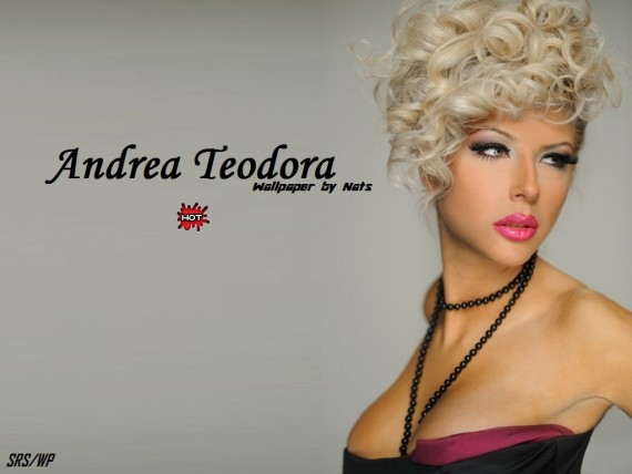 ... to Mobile Phone Andrea Teodora Celebrities Female wallpaper num.17