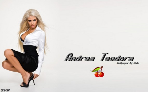 ... to Mobile Phone Andrea Teodora Celebrities Female wallpaper num.16