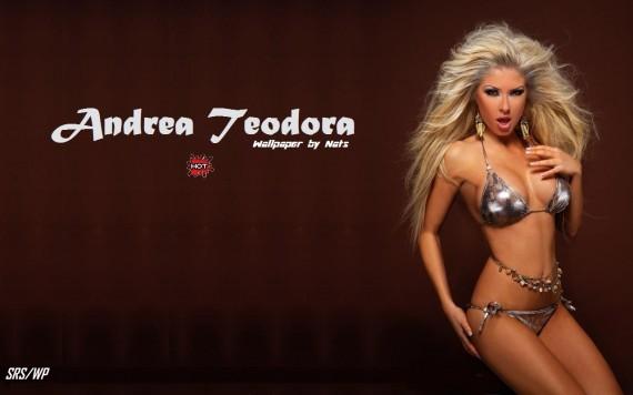 ... to Mobile Phone Andrea Teodora Celebrities Female wallpaper num.40