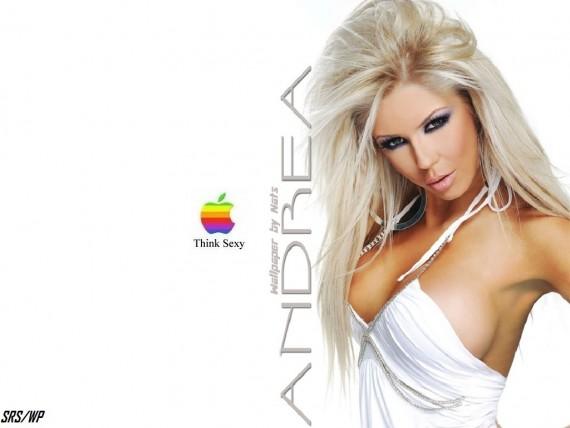 ... to Mobile Phone Andrea Teodora Celebrities Female wallpaper num.36