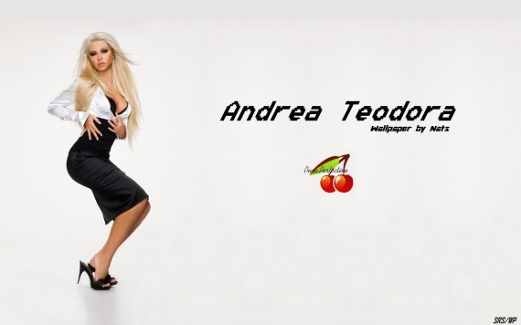 ... to Mobile Phone Andrea Teodora Celebrities Female wallpaper num.54