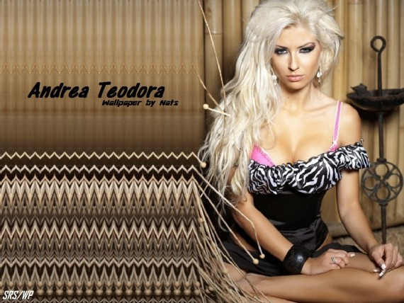 ... to Mobile Phone Andrea Teodora Celebrities Female wallpaper num.34