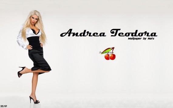 ... to Mobile Phone Andrea Teodora Celebrities Female wallpaper num.55