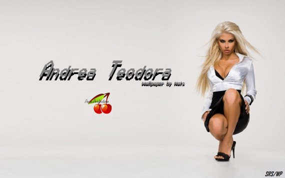 ... to Mobile Phone Andrea Teodora Celebrities Female wallpaper num.14